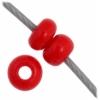 Czech Seedbead 11/0 Medium Red Opaque